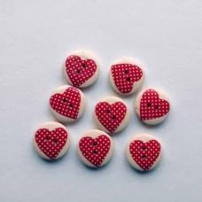 Пуговка сердце